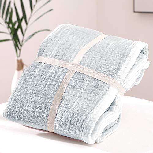 Manta de muselina de algodón 100% para adultos, 6 capas ...
