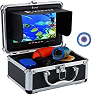 "Eyoyo Underwater Fishing Camera Video Fish Finder Sea / River / Ice Fishing Camera 7"" Monitor 1000TVL Cam"