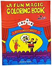 Magic Trick Magic Coloring book With Blank Pages