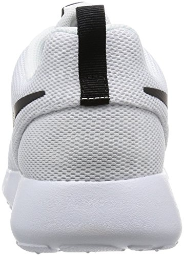 Nike Womens Roshe One Running Shoes (7.5) (bianco / Bianco / Nero)