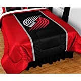 NBA Portland Trail Blazers Bed Comforter Basketball Team Logo Bedding