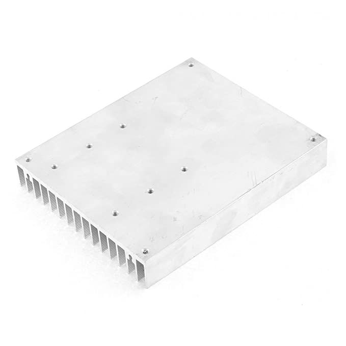 Amazon.com: Radiador de alumínio do dissipador de calor difusa Sink Cooling Fin 120x100x18mm: Home & Kitchen