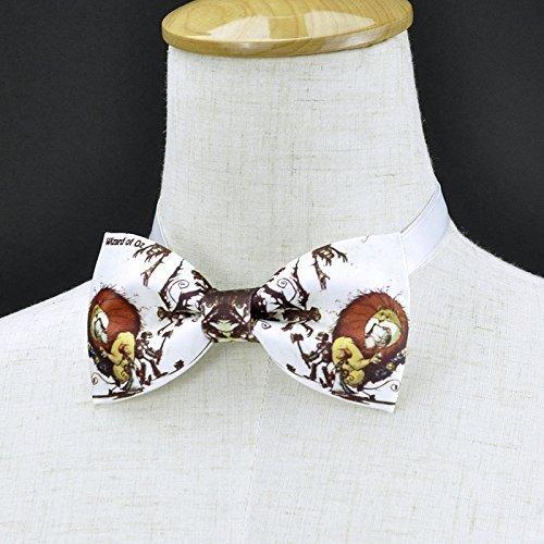 Wizard of OZ bow tie, handmade bow tie, personalize bow tie, pre tied bow tie ()