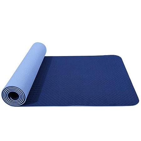 JuxinShangmao8 Colchoneta De Yoga De Dos Colores, 8 Mm De ...
