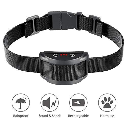 Bark Collar [2018 Smart Chip] Dog Shock Anti-Ba...