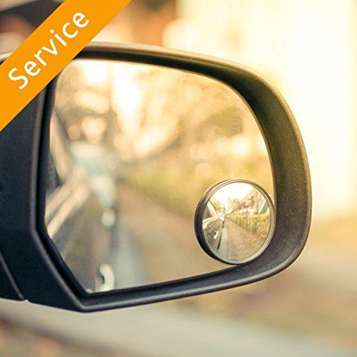 Automotive Blind Spot Mirror Extension Installation