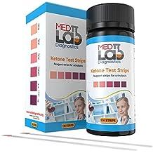 Ketone Strips Keto Test(150 ct) for Ketone Urine Testing. Ketosis Test Strips for Keto Diet, Paleo, Ketogenic, Atkins, Low Carb, and Diabetic Diet