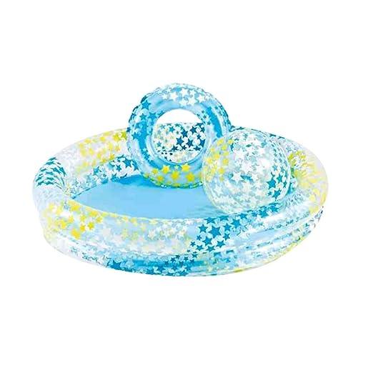 Sansee Summer Inflable Piscina Familia niños Piscina bebé océano ...