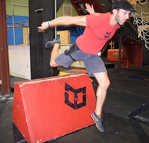 PK Tactical Parkour / Freerunning Leg Bag, Running Belt for extreme athletes, runners, gymnasts, ninjas, rock climbers and more. by Warrior Life Gear (Image #5)