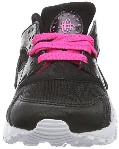Nike Heren Air Max Voordeel Loopschoen Zwart / Wit-roze Blast