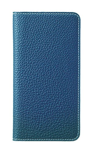 [BLACK FRIDAY 50%OFF] BONAVENTURA iPhone 6s Plus / iPhone 6 Plus Leather Flip Wallet Cover Case (Perlinger Full-Grain Leather) [iPhone 6 Plus / 6s Plus | BLUE] by BONAVENTURA (Image #1)