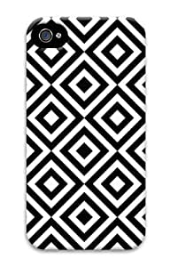 popular For Samsung Galaxy S3 I9300 Case Cover 3D Customized Unique Print Design Diamond Pattern Black And White New Fashion For Samsung Galaxy S3 I9300 Case Cover