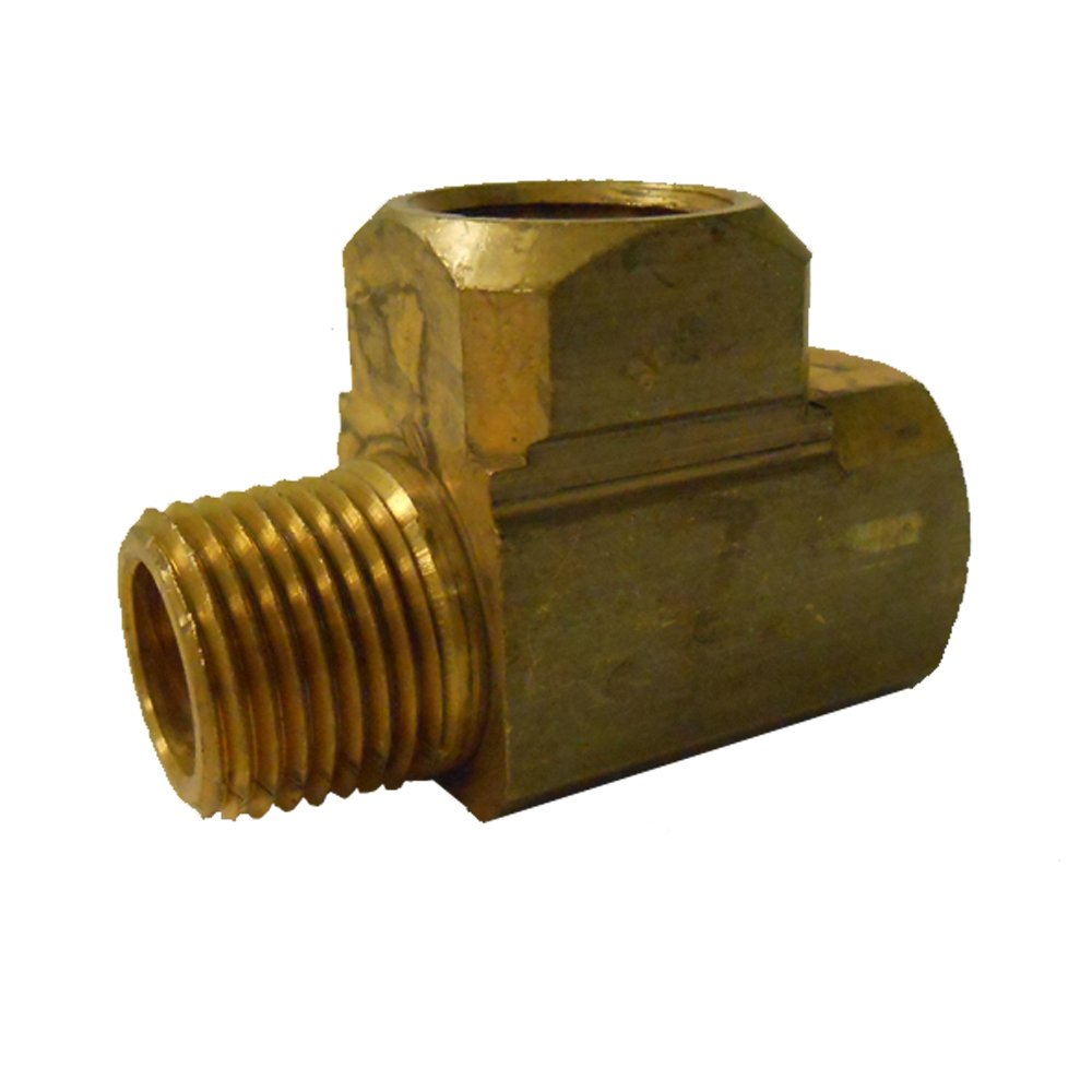Brass Fitting 3//8 Gas Brass Fitting Trident Marine 622-3838 L.P 3//8