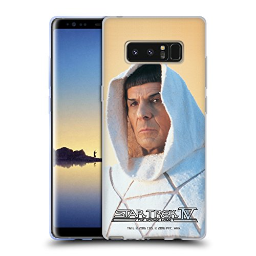 Official Star Trek Vulcan Robe Hood Spock The Voyage Home Tos Soft Gel Case For Samsung Galaxy Note8   Note 8