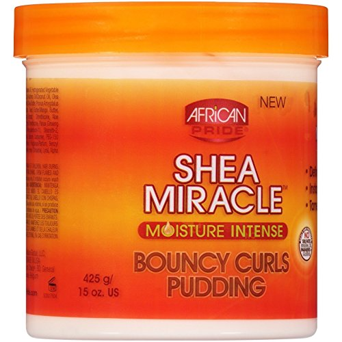 AFRICAN PRIDE SHEA BUTTER MIRACLE BOUNCY CURLS PUDDING MOISTURE INTENSE - Pudding Butter