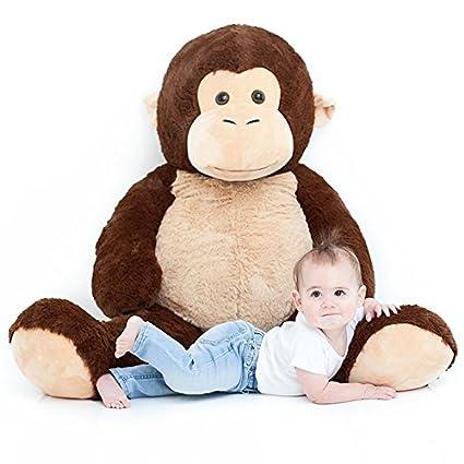 Amazon Com Jumbo Plush Animal Large 49 Monkey Stuffed Animal