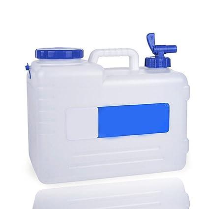 Yunhigh Contenedor de Almacenamiento de Agua con espita bpa dispensador de Agua Potable Rígida Preserver Portátil