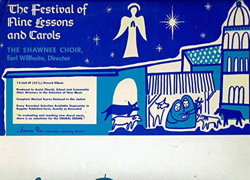 - The Festival of Nine lessons and Carols - Vinyl LP Record M-219