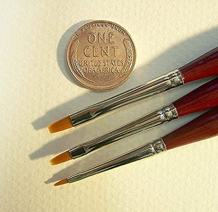 Micron Mini Art Brush Flat Shader #15//0 one brush
