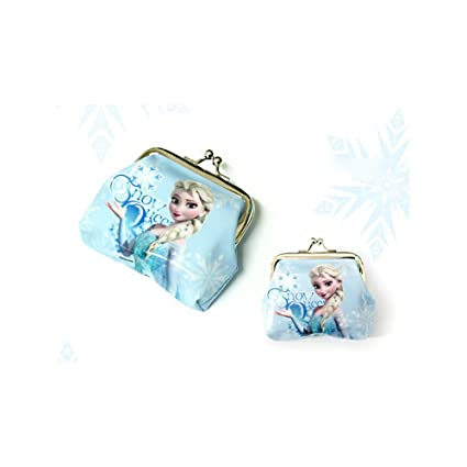 Disney Frozen Elsa y Anna Monedero Bolsillo 7 tipos Coin ...
