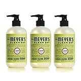 Mrs. Meyers Clean Day Liquid Hand Soap, Lemon Verbena, 12.50 oz, 3 pack