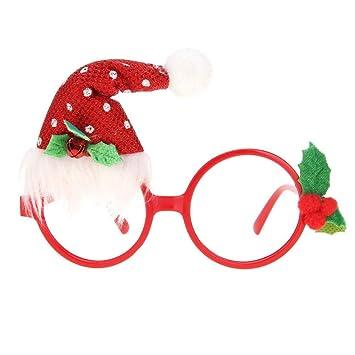 Frohe Weihnachten Rahmen.Dkvfhdn Frohe Weihnachten Rahmen Brille Neuheit