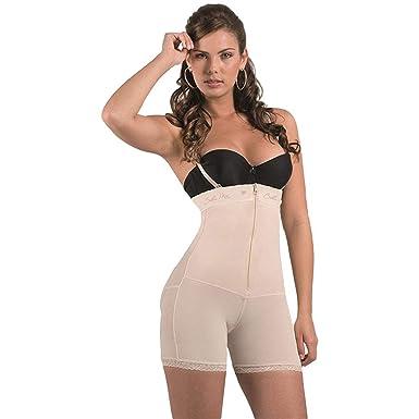 ed042b86417f2 Bella Mia Women s Strapless Short Body Shaper - Beige -  Amazon.co ...