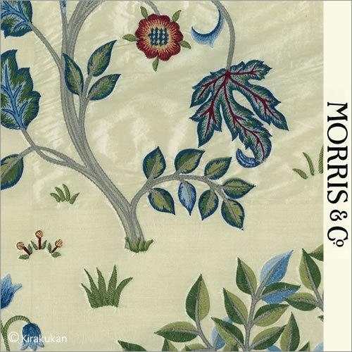 ウィリアムモリス 生地刺繍(絹)ケルムスコットツリー Kelmscott Tree AC-1   B01DZKWN10
