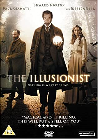 The Illusionist [DVD]: Amazon.co.uk: Edward Norton, Paul Giamatti, Jessica  Biel, Rufus Sewell, Neil Burger, Edward Norton, Paul Giamatti: DVD & Blu-ray