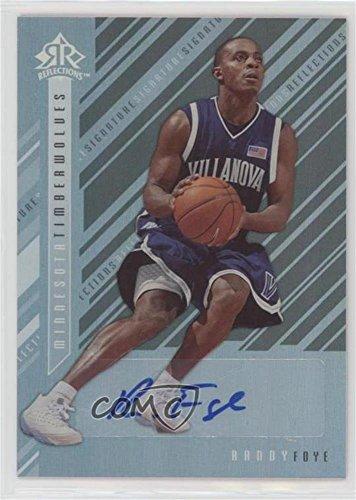 2006 Signature Reflections - Randy Foye (Basketball Card) 2006-07 Upper Deck Reflections - Signature Reflections - [Autographed] #SR-RF