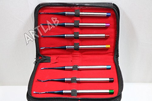 GERMAN PREMIUM SET OF 7 PRECISE DENTAL ELEVATOR PROXIMATORS ORTHODONTIC SURGICAL ( CYNAMED ) by CYNAMED