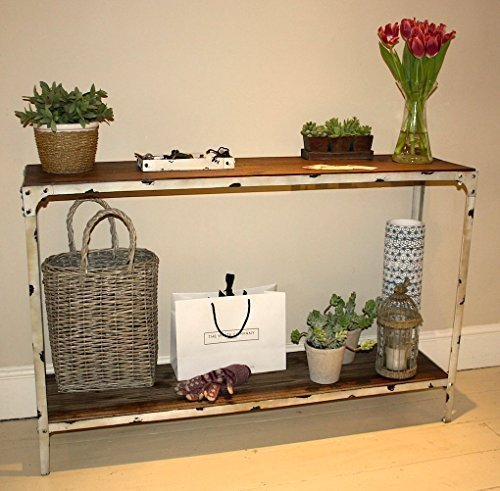 Konsole - antik weiß Steel Magnolias Furniture Ltd