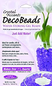 Deco Beads DB-P Purple 1/2-Ounce Packet