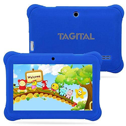 Tagital® 7″ T7K Android Kids Tablet – Blue