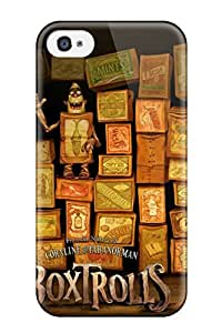 Cute Tpu GrayAnnys The Boxtrolls Case Cover For Iphone 4/4s