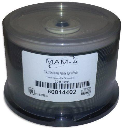 MAM-A Mitsui) DIGITAL-AUDIO *WHITE INKJET/GOLD* 74-Minute...