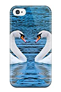 Iphone 4/4s Case Cover Skin : Premium High Quality Swans Case