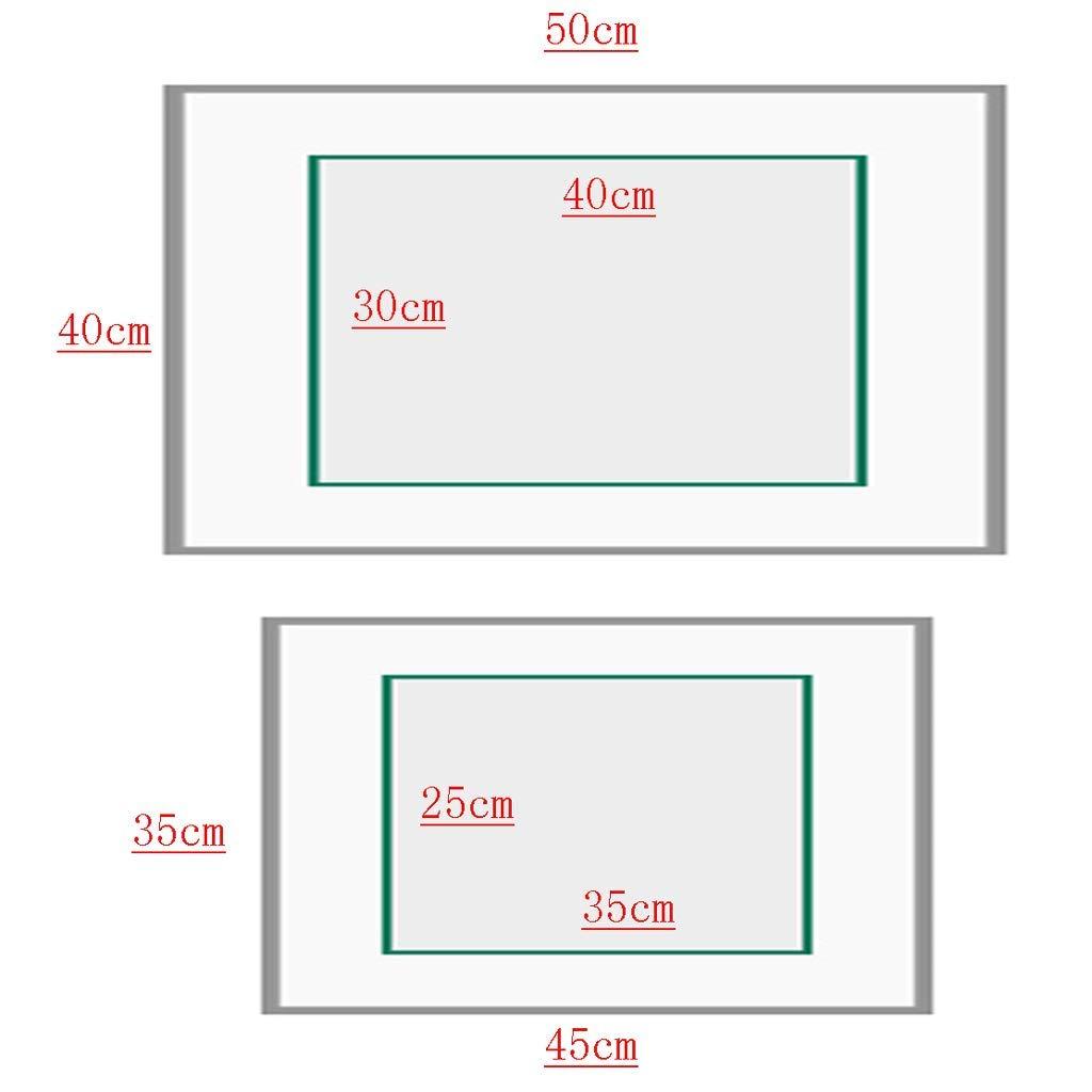 patr/ón de Paisaje YAGEER DXIANG Cuadro de medidor Pintura Decorativa hasta Flip Tipo hidr/áulico para la Pared del Dormitorio del Pasillo del Hotel Borde Negro de Tela Tapa del medidor