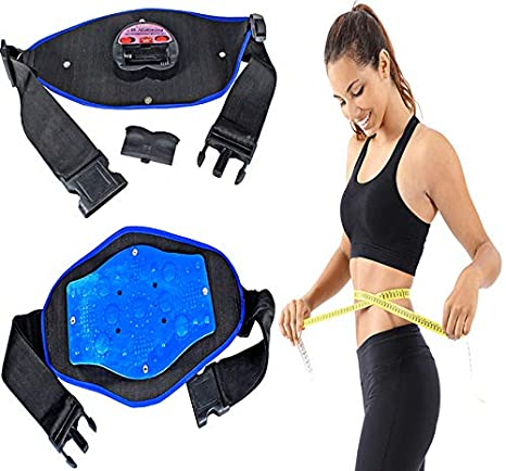 a15c3459c8676 Frackkon Frackkon Magnetic Slimming Massager Belt Vibration Tummy Control  Shapewear Fat Burner Sauna Suit Cincher Fat