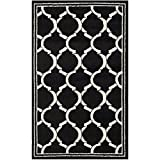 Safavieh Amherst Collection AMT415G Anthracite and Ivory Indoor/Outdoor Area Rug (3′ x 5′) Review
