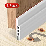 Holikme 2 Pack Door Draft Stopper Under Door Draft