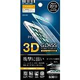 iPhone7/6s/6ガラスフィルム 4.7インチ対応 Premium Style 液晶保護ガラス 3Dフレーム全面保護 アンチグレア ホワイト