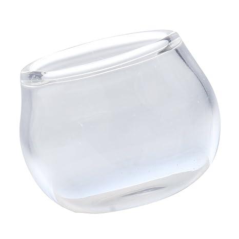Baoblaze Escala 1/12 Acuario de Vidrio Transparente en Miniaturas Adornos de Dollhouse