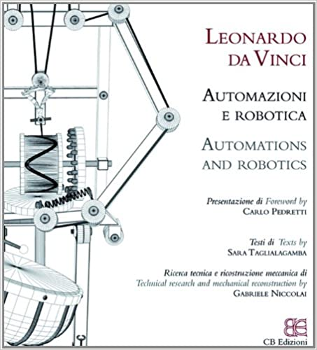 Leonardo Automation And Robotics Italian And English Edition Sara