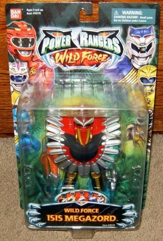 Amazon com: Wild Force Isis Megazord 5 5