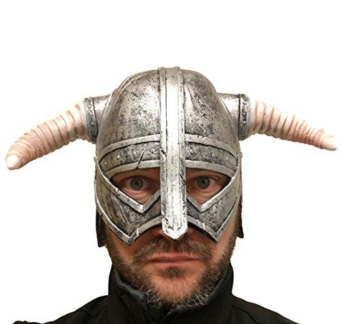 Viking Helmet, Latex , Overhead , Roman , Spartacus , Warrior , Viking (Spartacus Costumes)