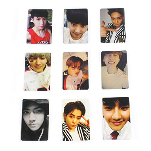 Fanstown EXO Love Me Right Double Size Sighnature Card Set