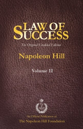 Download Law of Success Volume II: The Original Unedited Edition ebook