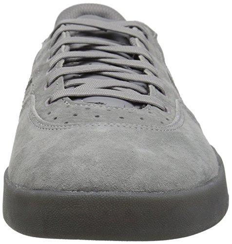 adidas Originals Men's City Cup Skate Shoe Grey Three Fabric, Grey Five Fabric, Gold Met.
