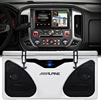 Alpine X110-SRA 10 Multimedia & Navigation Restyle system For 2014+ GMC Sierras ICE Bluetooth Grizzly Cooler